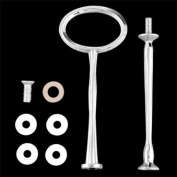 5 Wedding Metal 2 Tier Cake Stand Centre Handle Rods Fittings Kit
