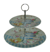 Two tier cake stand - 'The Country Kitchen'