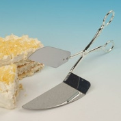 Gateaux Cake Quiche serving scissors Silver Plated with tarnish resistant finish that never needs Silver polishing