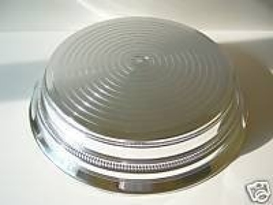 Silver 36cm Round Napier Wedding Cake Stand BaseWedding by Napier