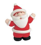 Christmas Cake Decoration Topper Claydough Santa 50mm