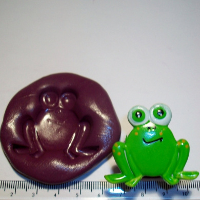 Silicone Mould Frog Cake Decoration Cupcake Topper
