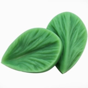 Wholeport Leaf Flower Fondant and Gum Paste Mould Silicone Clay Moulds Jewellery Moulds Candy Mould Cake Decoration Supplies