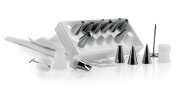 Deluxe Icing Set with 12 Nozzles and piping bags