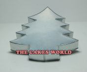 Christmas Tree Shape Birthday Wedding Anniversary Cake Tin