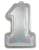 NUMBER 1 ONE SHAPE CAKE TIN PAN NOVELTY BABYS FIRST 1ST BIRTHDAY CAKE DECORATING FROM CFU