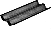 Baguette Baking Tray for French Style Bread Sticks, Non Stick, Micro Perforated
