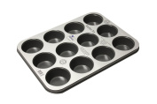 Prochef Prochef 12 Cup Muffin Tray Premium Quality with Teflon Silicone Coating