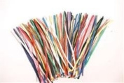 PIPE CLEANERS BRIGHT ASSORTED COLOURS 30CM LONG PACK OF 100 N2