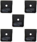 My Ashtray Five Black Pocket Ashtrays