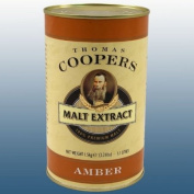 Home Brew - Coopers 1.5Kg Tin Of Liquid Amber Malt Extract
