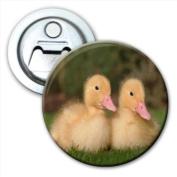 Baby Ducks Ducklins Bottle Opener Fridge Magnet