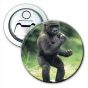 Baby Gorilla Bottle Opener Fridge Magnet