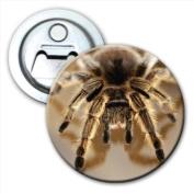 Close-up of a Tarantula Spider Bottle Opener Fridge Magnet