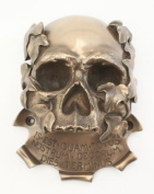 MEMENTO MORI BEER BUDDIES WALL MOUNTED SKULL BOTTLE OPENER - MEMENTO MORI BY DESIGN CLINIC - Suitable For Indoors Or Outdoors