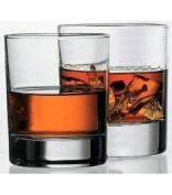 WHISKY TUMBLER. CLASSIC TOP QUALITY WHISKY GLASS. 305ml.