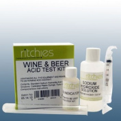 Homebrew & Wine Making - Wine & Beer Acid Test Kit - Titration Kit