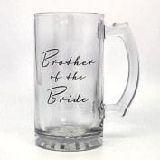 Top Quality Brother of the Bride Glass Tankard in Gift Box