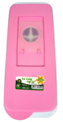 Quality Pink Ice Cube Tray with Lid For Easy Refill No Spill