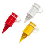 The Caraselle Pack of 3 x Carton Pourer & Sealers