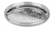 Round Tray Silver Plated