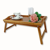 Bamboo Foldable Bed Tray 50 x 30 cm