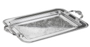 Silver Plated Tray British Made with special tarnish resistant finish that never needs polishing