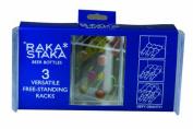 Raka Staka Set of 3 Beer Bottles Versatile Racks