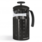 Morphy Richards Accents Cafetiere, 8 Cup - Black