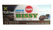 Tops Jamaican Bissy Herbal Tea, (Kola Nut)