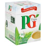 PG Tips 80 Pyramid Tea Bags 250g