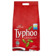 Typhoo 1100 One Cup Teabags For Caterers 2.5kg - Pack of 2