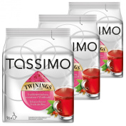 Tassimo Twinings Fruits of the Forest Tea, Pack of 3, 3 x 16 T-Discs