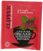 Clipper Organic Infusion Red Fruits and Aronia Berry Enveloped 250 Teabags 625 G