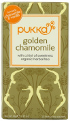 Pukka Herbs Organic Chamomile and Vanilla Tea - Pack of 20 Sachets