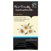 Lichfields Fairtrade Camomile 20 Tea Bags 30g