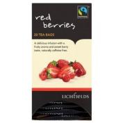 Lichfields Fairtrade Red Berries 20 Tea Bags 40g