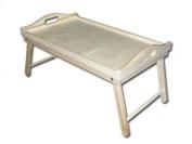 Plain New Wooden Tray /Folding Legs/ Breakfast Serving Tray/ Bed Tray- 50cmx30cmx 12cm Decoupage Art Craft