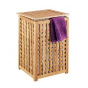 Zeller 13438 Laundry Basket 40 x 40 x 58 cm Bamboo