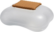 A Di Alessi Mary Biscuit Biscuit Box in Thermoplastic Resin, Ice