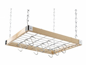 Hahn Ceiling Rack Square Wooden