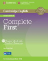 Complete First Teacher's Book with Teacher's Resources CD-ROM [With CDROM]