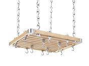 Hahn Ceiling Rack European Rectangular Wooden