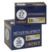 Coin capsules 31,5 mm (10 Pieces) [Lindner 2250315]