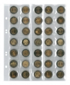 Coin pages UNIVERSAL for 35 coins, 5 pieces [Lindner MU35]