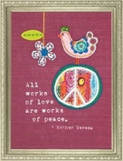 All Works Of Love Crewel Embroidery Kit