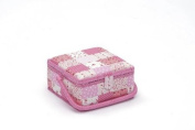 Sewing Basket Patchwork (S) With Free Sewing Kit