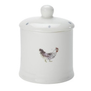 Sophie Allport Fine Bone China Jam Jar - Chickens