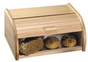 Kesper Roll Top Bread Bin 39x25x18 cm Beech Wood