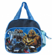 Blue Bumble Bee and Optimus Prime Lunch Bag - Transformers Lunch Box